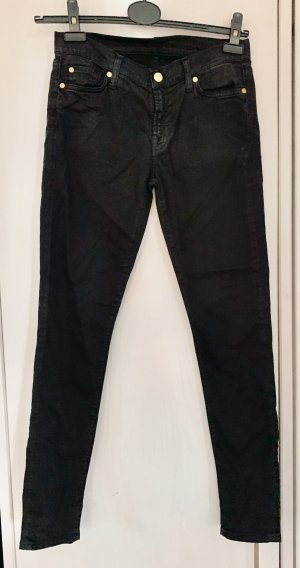 7 for all mankind Skinny Jeans Black 27