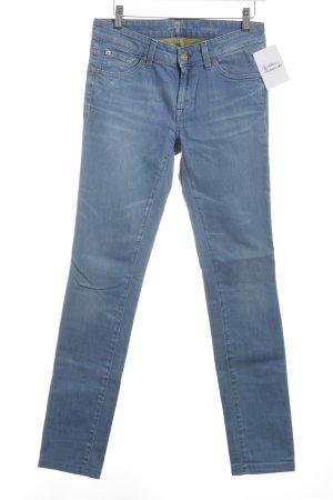 7 For All Mankind Skinny Jeans blassblau Jeans-Optik