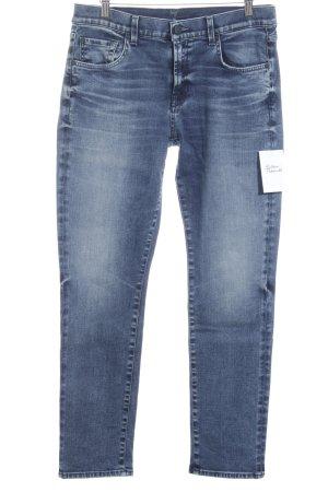 7 For All Mankind Skinny Jeans blau-blassblau schlichter Stil