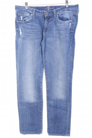 7 For All Mankind Skinny jeans blauw zure was