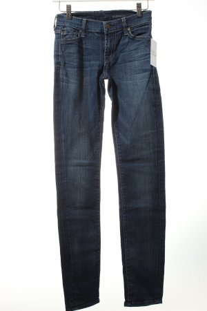 7 For All Mankind Skinny Jeans blau Casual-Look