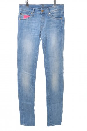 7 For All Mankind Skinny Jeans blue casual look