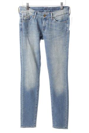 "7 For All Mankind Skinny Jeans ""Cristen"" blau"