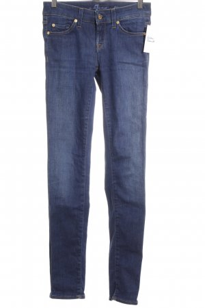 7 For All Mankind Skinny Jeans blau Jeans-Optik