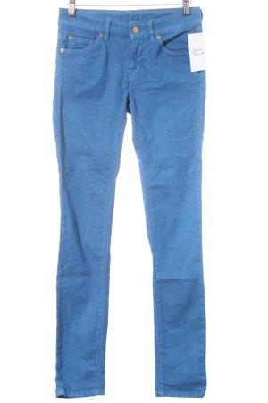 7 For All Mankind Skinny Jeans blau minimalistischer Stil
