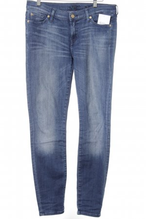 7 For All Mankind Skinny Jeans blau schlichter Stil