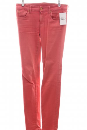 "7 For All Mankind Skinny Jeans ""Cristen"" lachs"