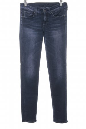 7 For All Mankind Jeans skinny blu scuro-malva Colore sfumato stile casual