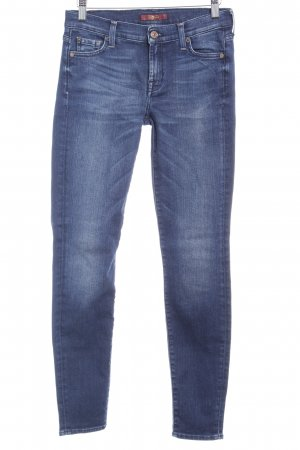 7 For All Mankind Skinny Jeans dunkelblau Casual-Look