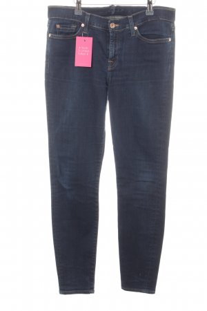 7 For All Mankind Vaquero skinny azul oscuro look casual