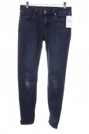 7 For All Mankind Skinny Jeans dunkelblau klassischer Stil