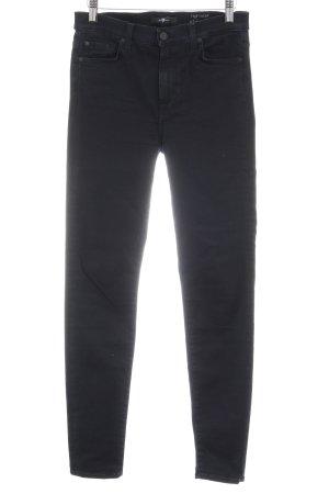 7 For All Mankind Skinny Jeans dunkelblau klassischer Stil