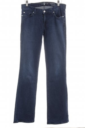 7 For All Mankind Skinny jeans donkerblauw straat-mode uitstraling