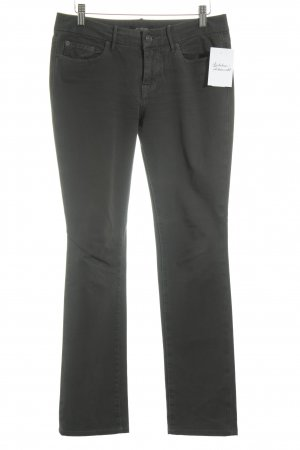 7 For All Mankind Skinny Jeans dunkelgrau sportlicher Stil