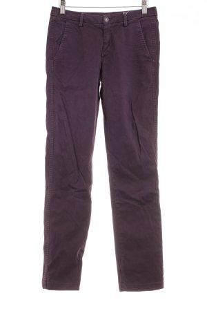 7 For All Mankind Vaquero skinny violeta oscuro look casual