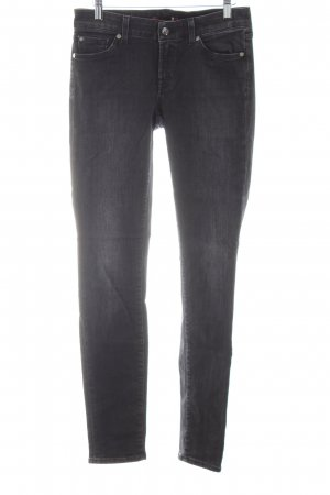 7 For All Mankind Skinny jeans zwart casual uitstraling