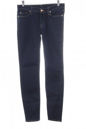 7 For All Mankind Vaquero skinny azul neón look casual