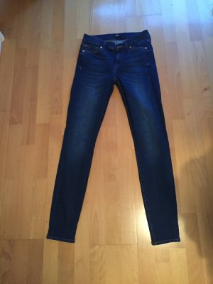 7 For All Mankind Jeans skinny blu