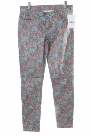 7 For All Mankind Skinny Jeans florales Muster