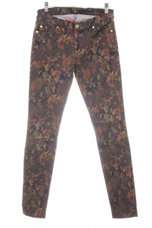 7 For All Mankind Skinny Jeans florales Muster Casual-Look