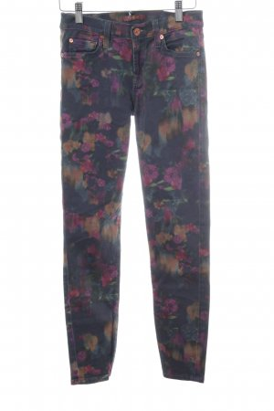 7 For All Mankind Vaquero skinny estampado floral look casual