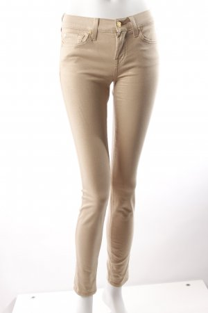 7 for all Mankind Skinny Jeans glitzernd