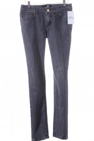 7 For All Mankind Vaquero skinny gris look casual
