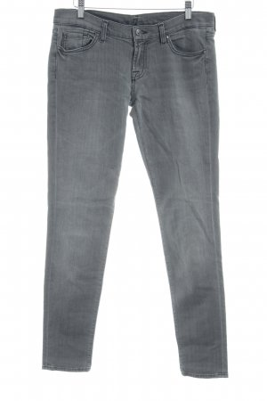 7 For All Mankind Skinny jeans grijs casual uitstraling