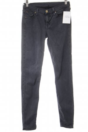 7 For All Mankind Skinny Jeans slate-gray casual look