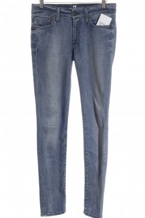 7 For All Mankind Skinny Jeans graublau Street-Fashion-Look