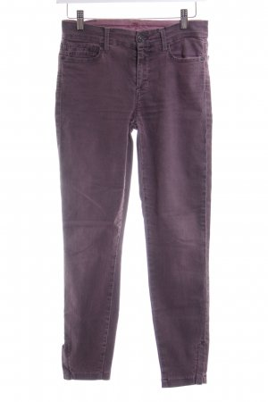 7 For All Mankind Skinny Jeans grey lilac casual look