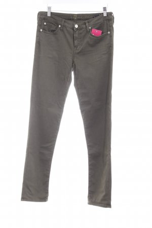 7 For All Mankind Vaquero skinny gris verdoso look casual