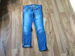 7 For All Mankind Vaquero skinny azul acero