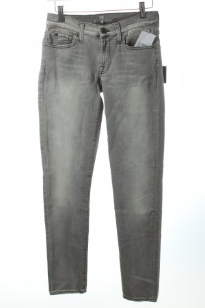 "7 For All Mankind Skinny Jeans ""Gwenevere"" hellgrau"