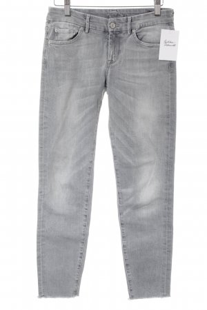 7 For All Mankind Skinny Jeans light grey casual look