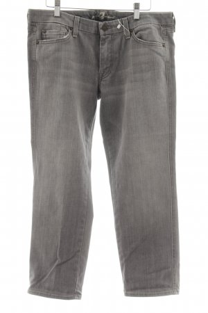 7 For All Mankind Vaquero skinny gris claro look casual