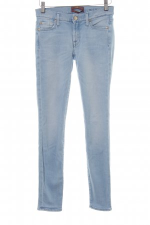 7 For All Mankind Vaquero skinny azul celeste estilo country