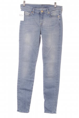 7 For All Mankind Skinny Jeans himmelblau Jeans-Optik