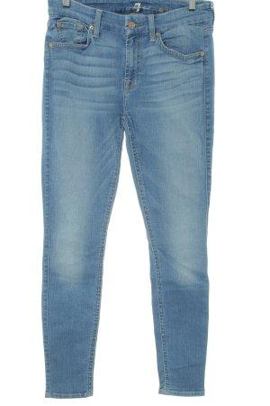 7 For All Mankind Skinny Jeans kornblumenblau Jeans-Optik