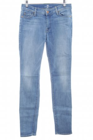 7 For All Mankind Jeans skinny bleuet Aspect de jeans