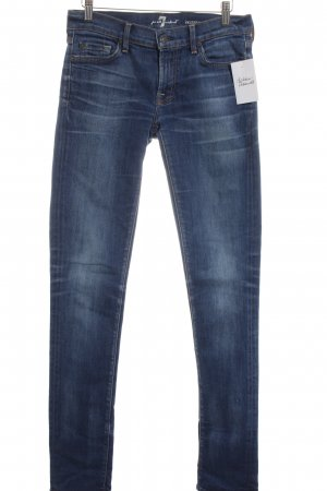 "7 For All Mankind Skinny Jeans ""Roxanne"" blau"