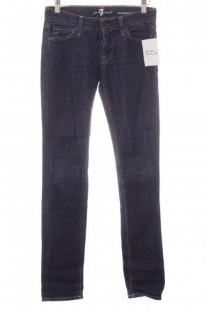 "7 For All Mankind Skinny Jeans ""Roxanne"" blau"