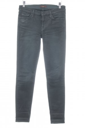 7 For All Mankind Skinny Jeans schwarz Casual-Look