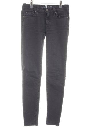 7 For All Mankind Jeans skinny noir Aspect de jeans