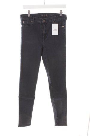 7 For All Mankind Skinny Jeans schwarz schlichter Stil
