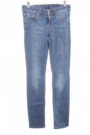 7 For All Mankind Vaquero skinny azul acero look casual