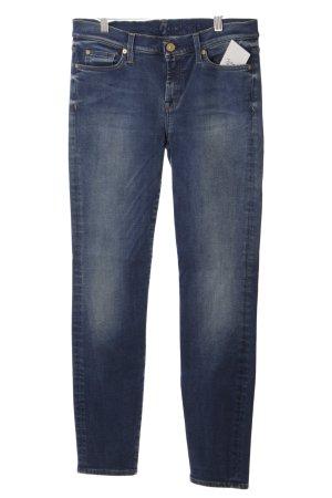 7 For All Mankind Vaquero skinny azul acero look casual