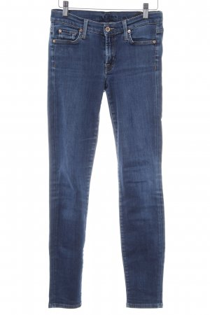 7 For All Mankind Skinny Jeans stahlblau Casual-Look