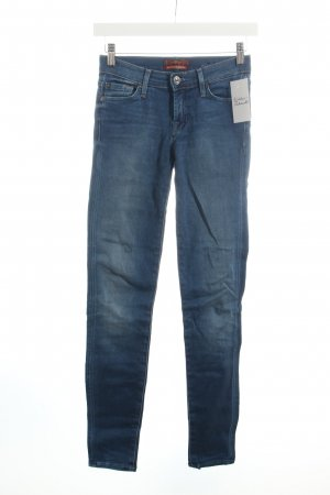 "7 For All Mankind Skinny Jeans ""the SKINNY"" blau"