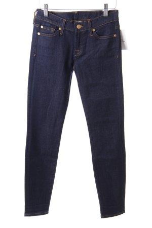 "7 For All Mankind Skinny Jeans ""the SKINNY"" dunkelblau"